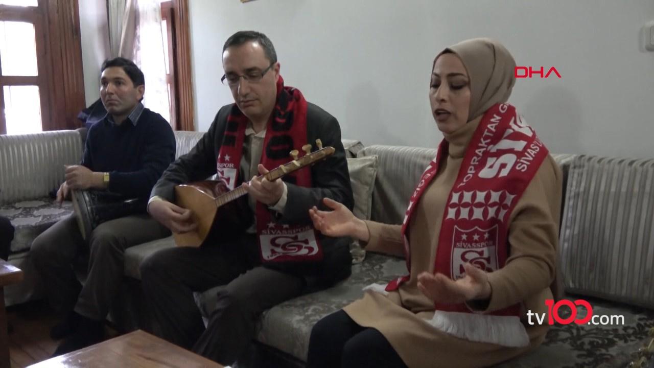 Sivasspor için şampiyonluk bestesi