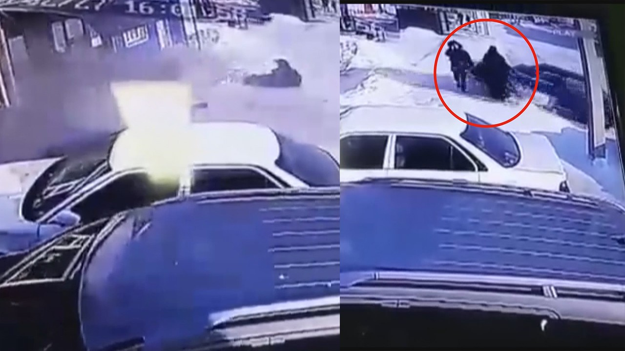Korkunç kaza! Aracıyla yayaların arasına daldı