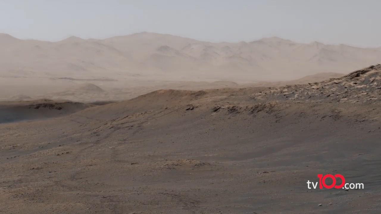 Mars'ın dev panoraması yayınlandı