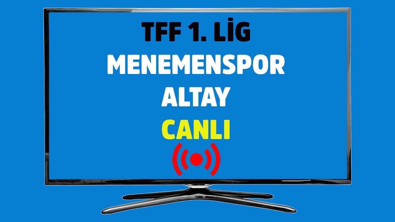 Menemenspor - Altay CANLI