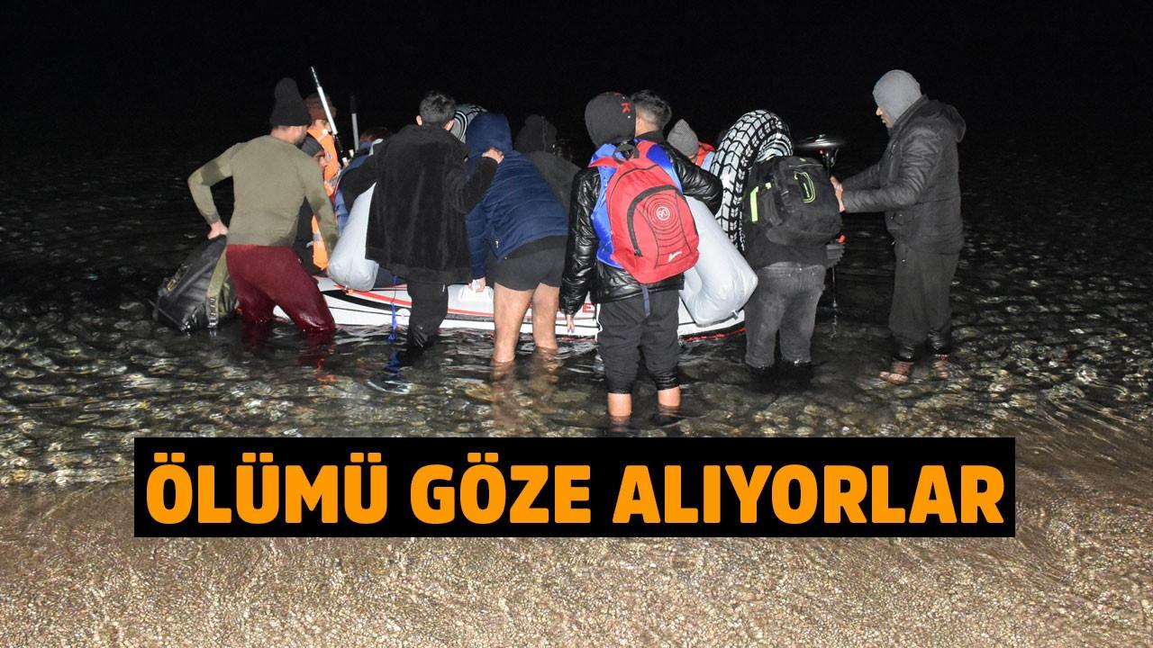 Bodrum'da sığınmacıların tehlikeli yolculuğu