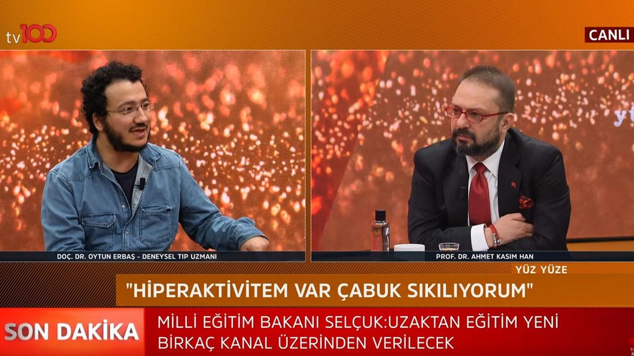 Prof. Dr. Ahmet Kasım Han ile Yüz Yüze