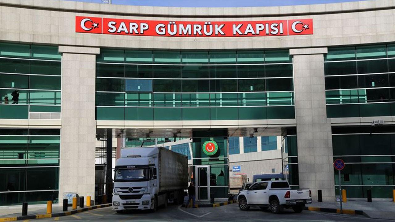 Sarp Sınır Kapısı yolcu trafiğine kapatıldı!