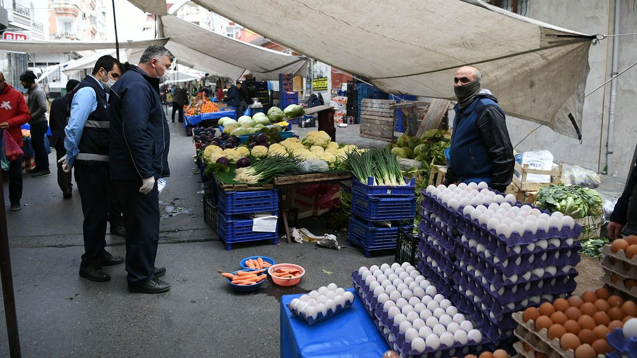 İstanbul'da pazarlarda 3 metre kuralı