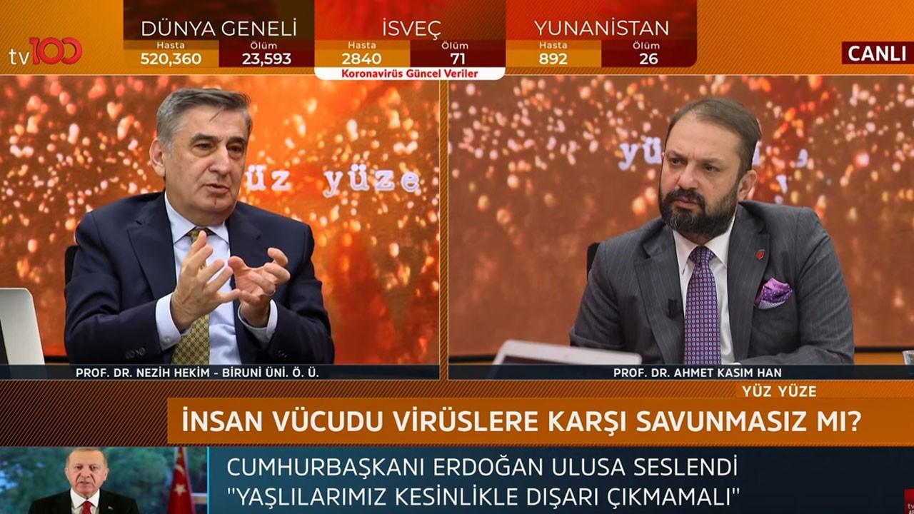 Ahmet Kasım Han ile Yüz Yüze
