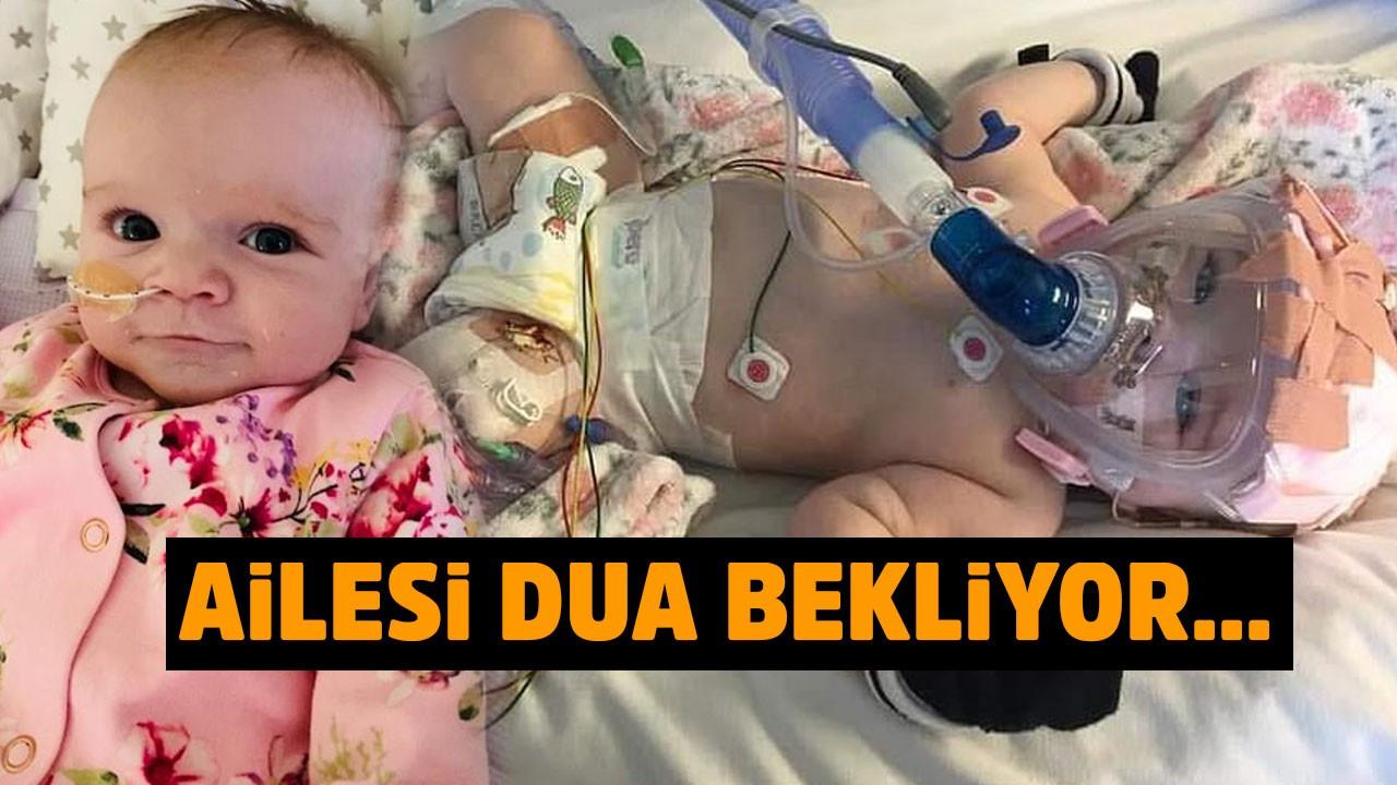 6 aylık Erin bebekte korona virüse yakalandı