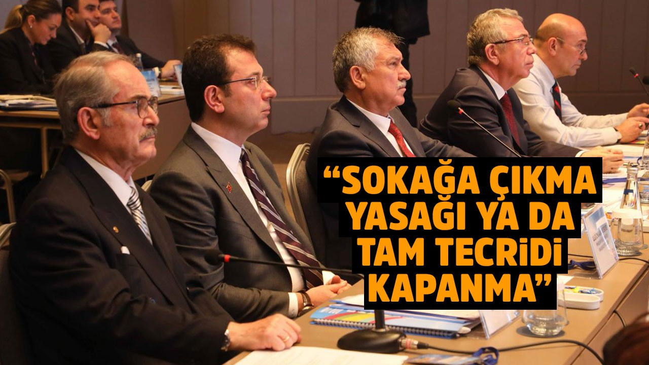 CHP'li belediye başkanlarından ortak açıklama