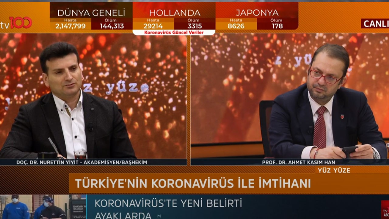 Ahmet Kasım Han ile Yüz Yüze   16 Nisan 2020