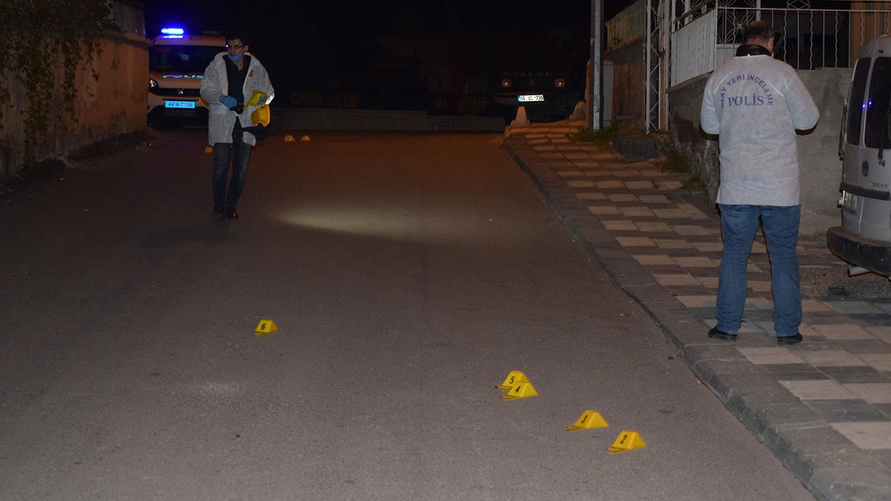 Malatya'da silahlı yaralama
