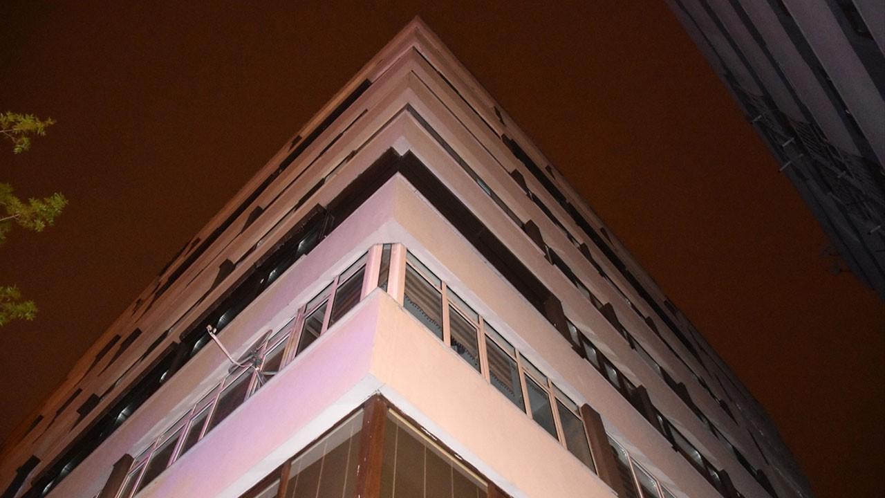 Kayseri'de 7 katlı binaya karantina!