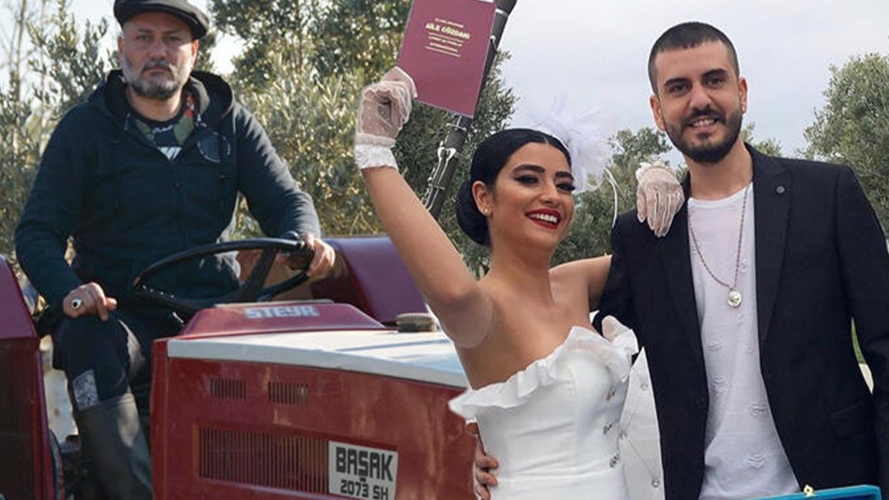 Hüsnü Şenlendirici oğlunu evlendirdi!