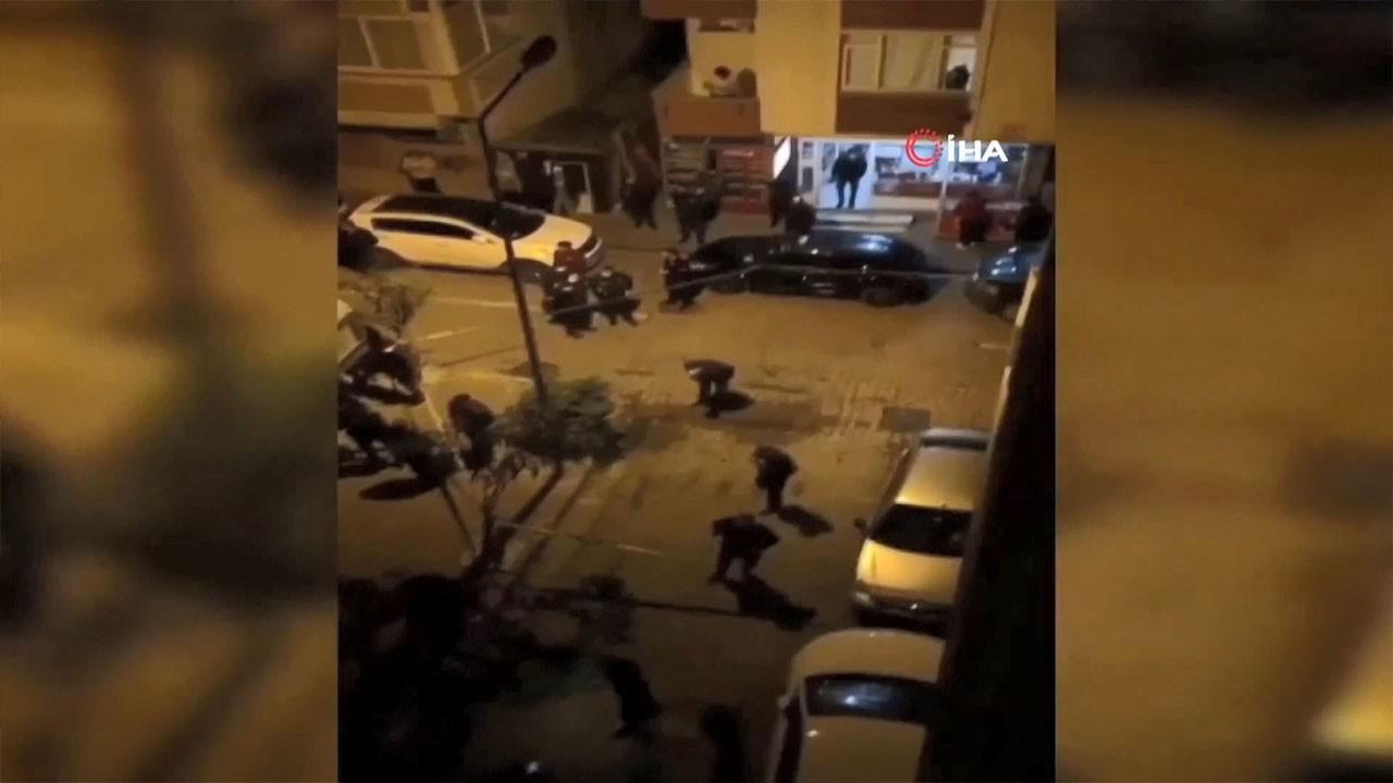 Bahçelievler'de silahlı çatışma: 1 yaralı
