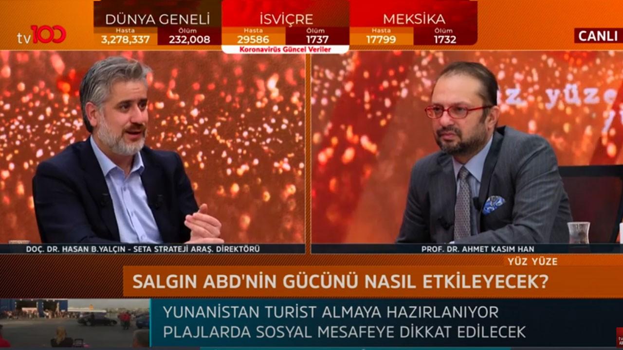 Ahmet Kasım Han ile Yüz Yüze   30 Nisan 2020