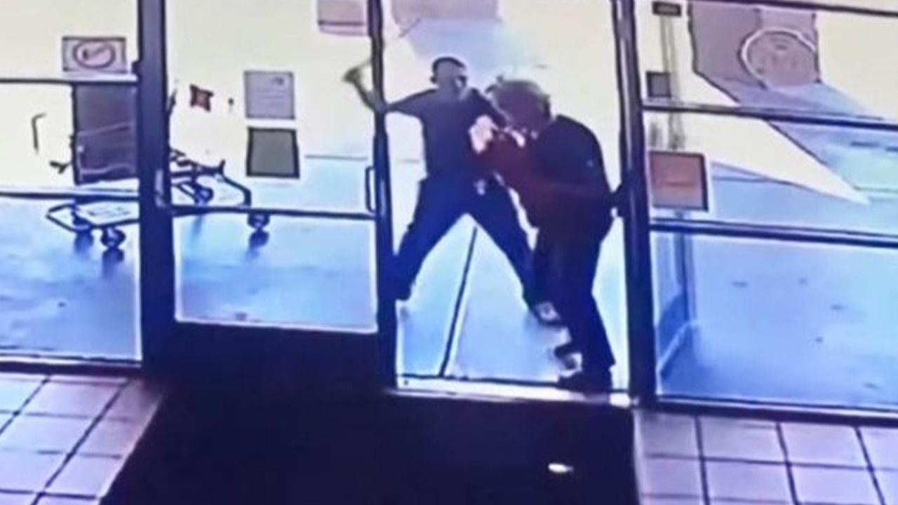 77 yaşındaki kadına metal boruyla saldırı
