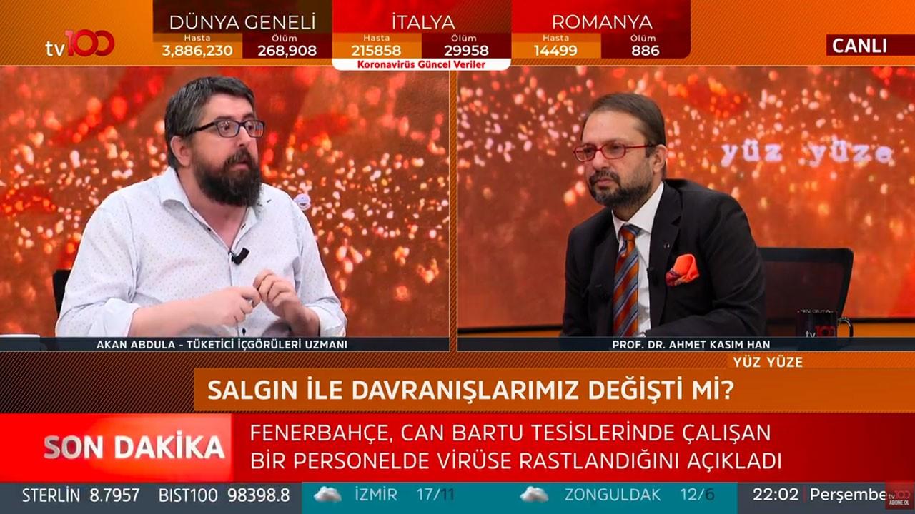 Akan Abdula - Ahmet Kasım Han ile Yüz Yüze