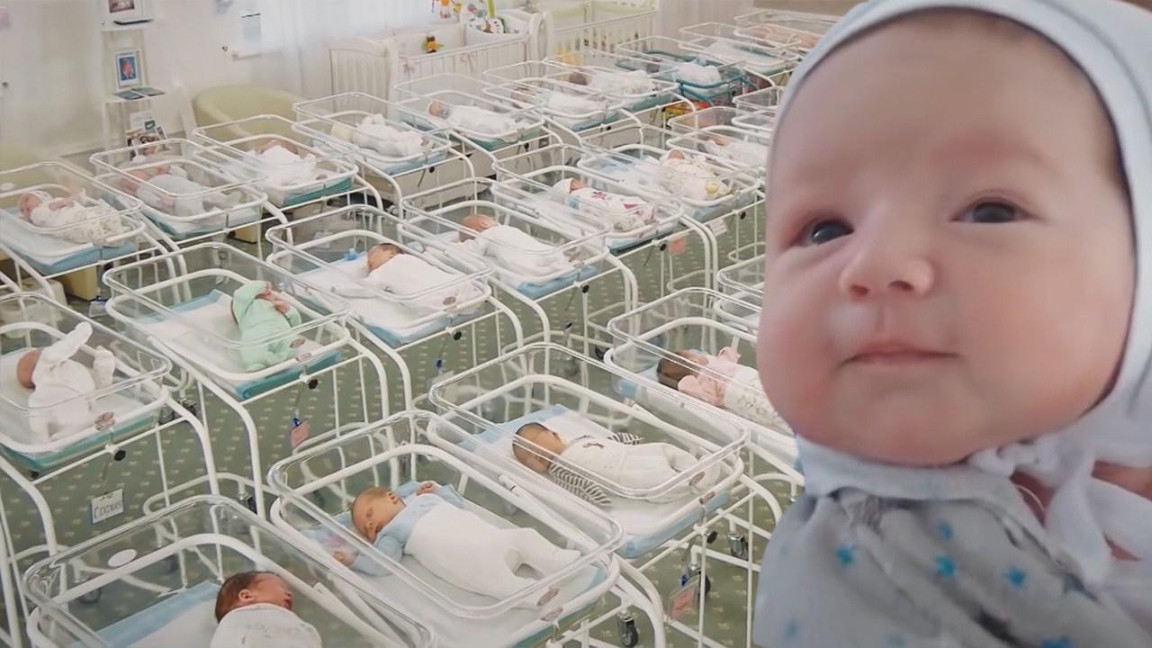 Onlarca bebek otele yerleştirildi