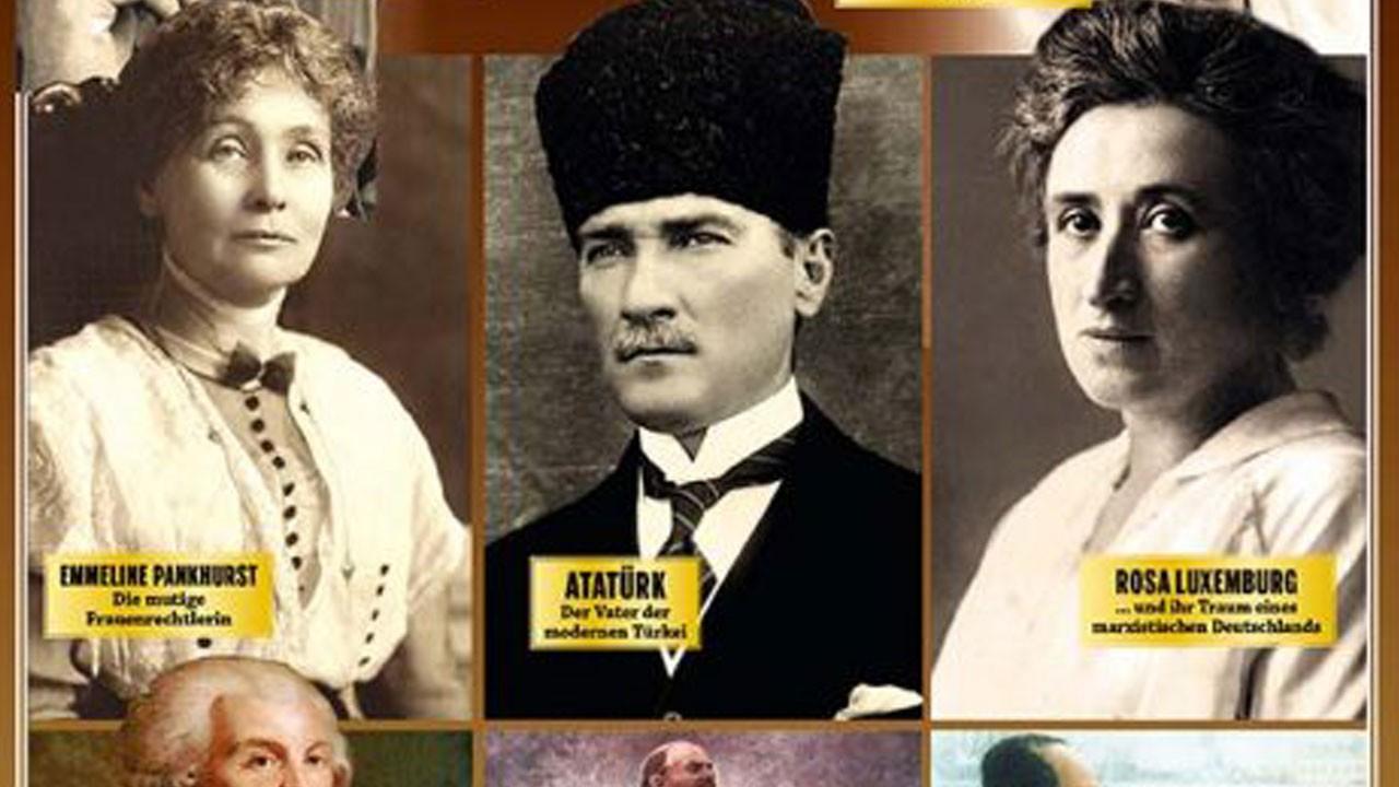 Atatürk 'Büyük Devrimciler' listesinde