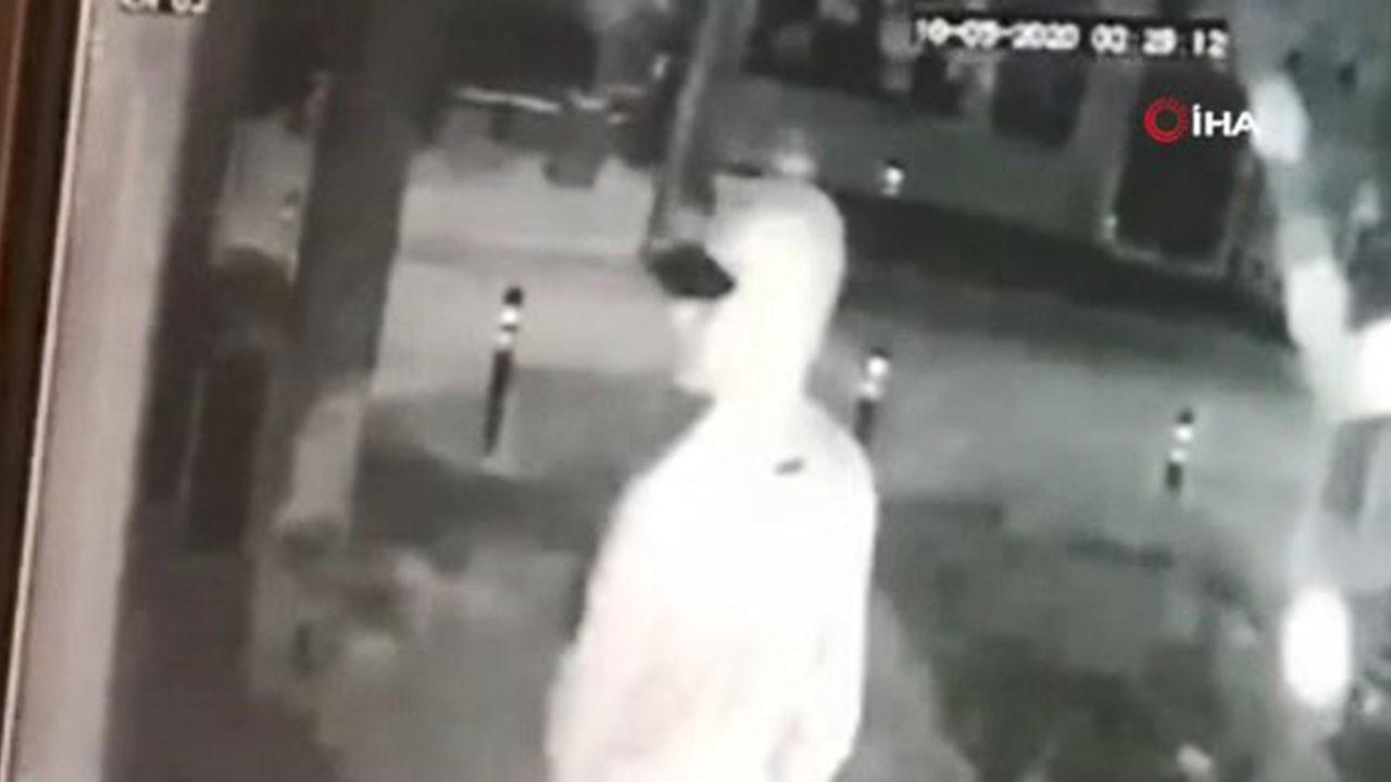 Hırsızların rahat tavırları pes dedirtti