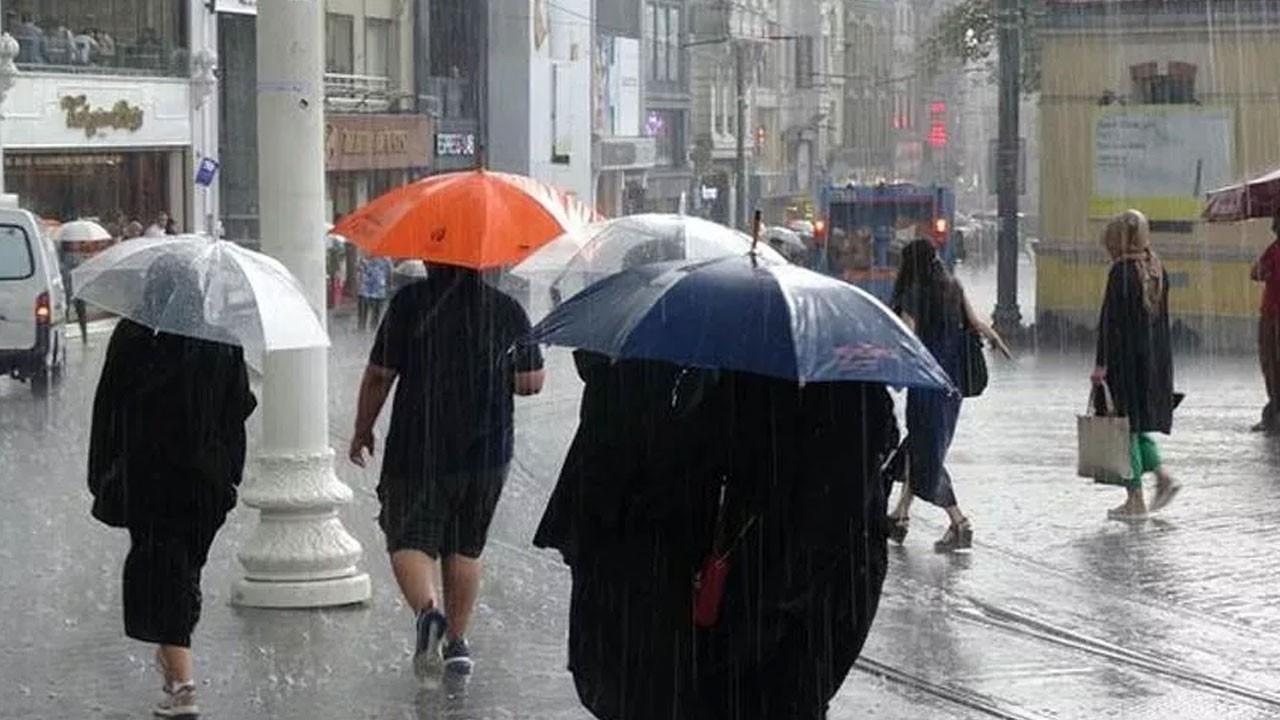 Bu saatlere dikkat! Çok kuvvetli yağış geliyor!