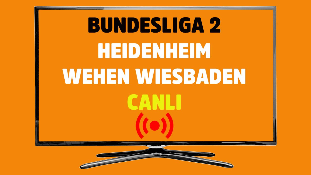 Heidenheim - Wehen Wiesbaden CANLI