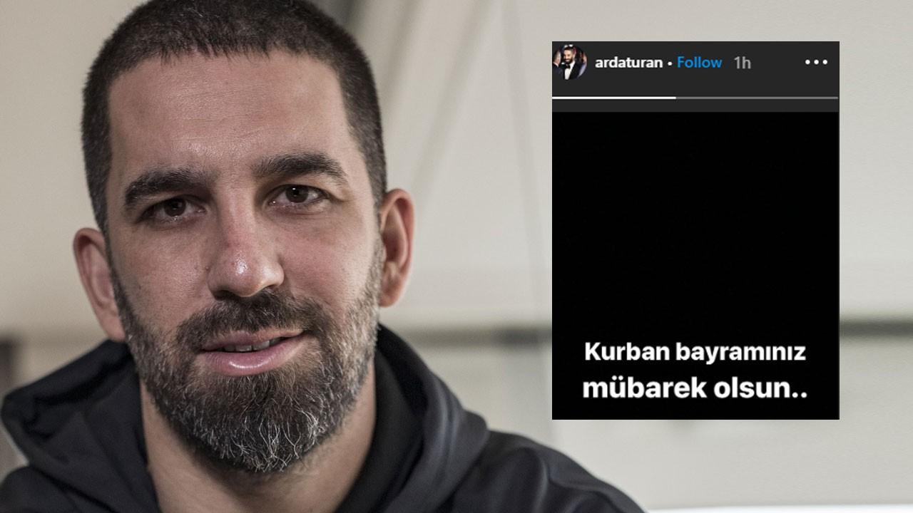 Arda Turan: Kurban bayramınız mübarek olsun