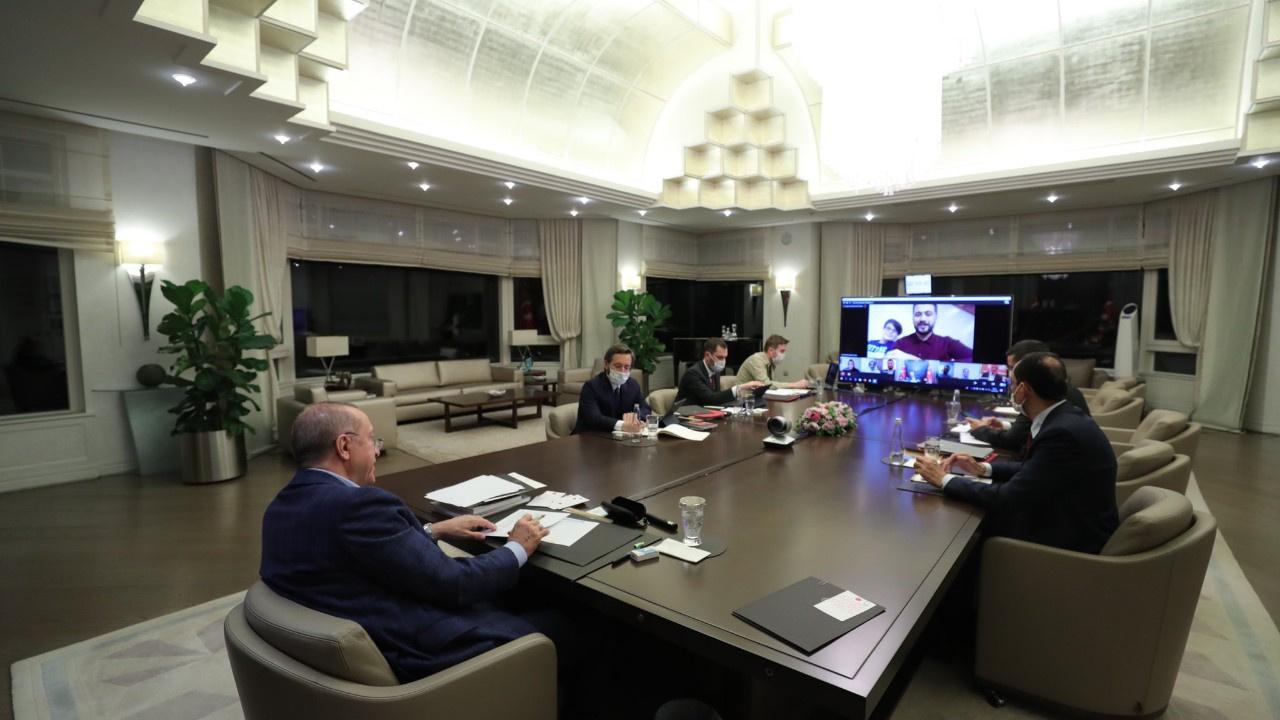 Cumhurbaşkanı Erdoğan paylaştı