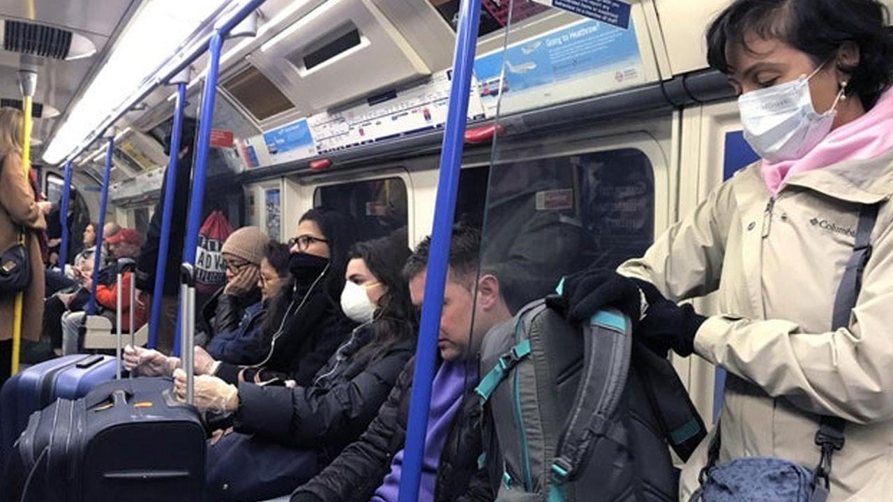 Metroda korona virüs deneyi: Herkese bulaşıyor