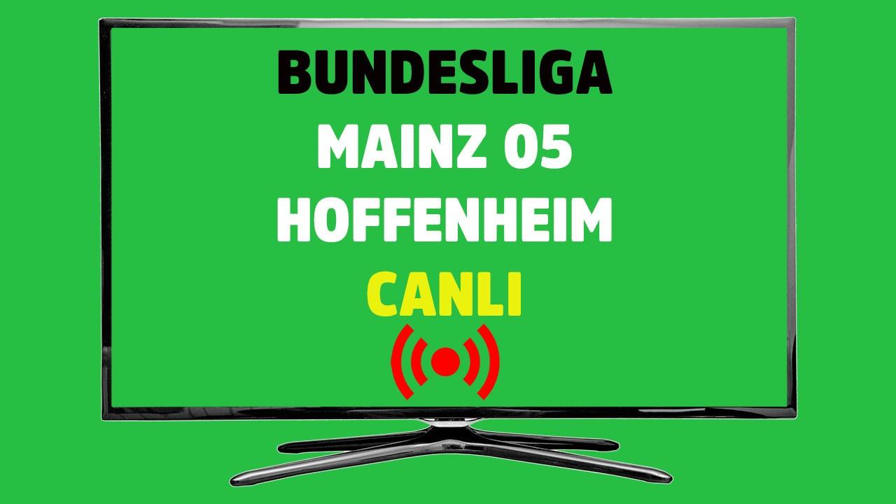 Mainz 05 - Hoffenheim CANLI
