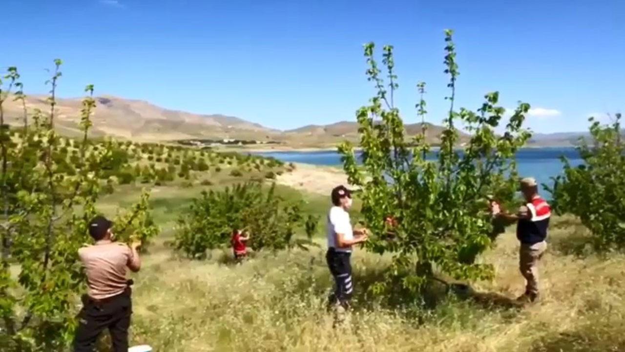 Tunceli'de Vefa ekibi Ziya Amcanın yardımına koştu