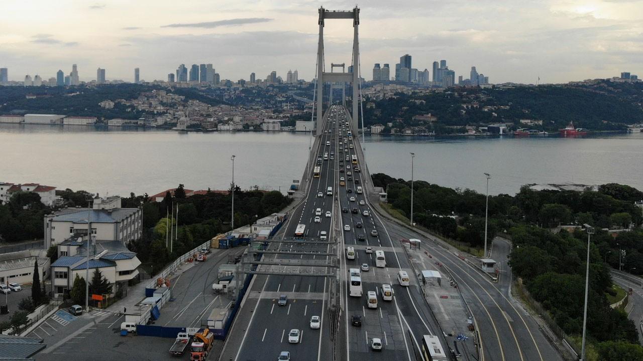 İki günlük kısıtlamanın ardından İstanbul...