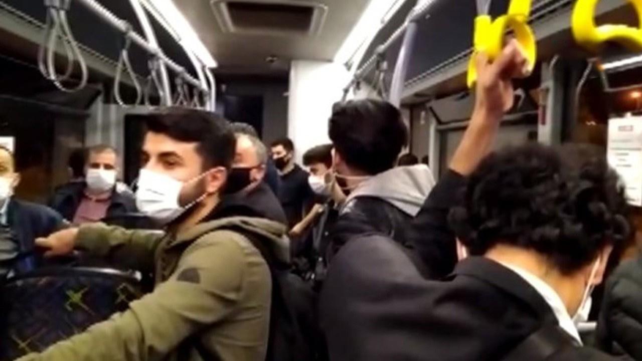 Halk otobüsünde 'kalabalık' tartışması