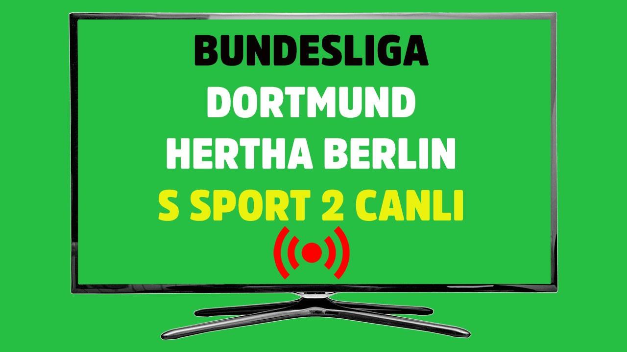Dortmund - Hertha Berlin CANLI
