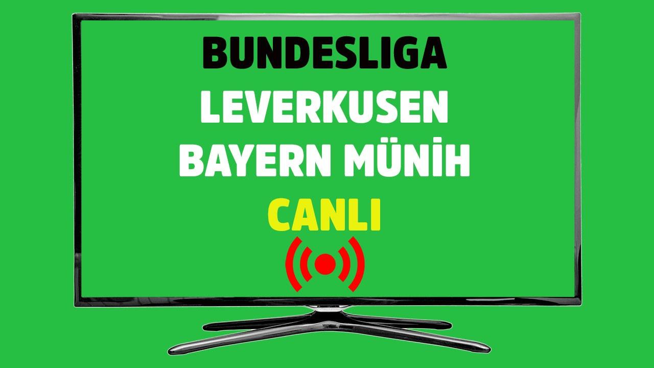 Leverkusen - Bayern Münih CANLI