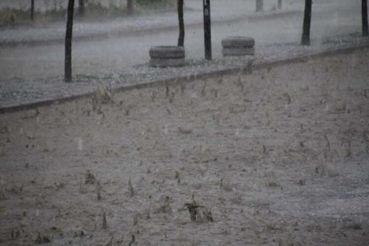 Haziran ayında dolu yağışı! Sokaklar göle döndü - Sayfa 3