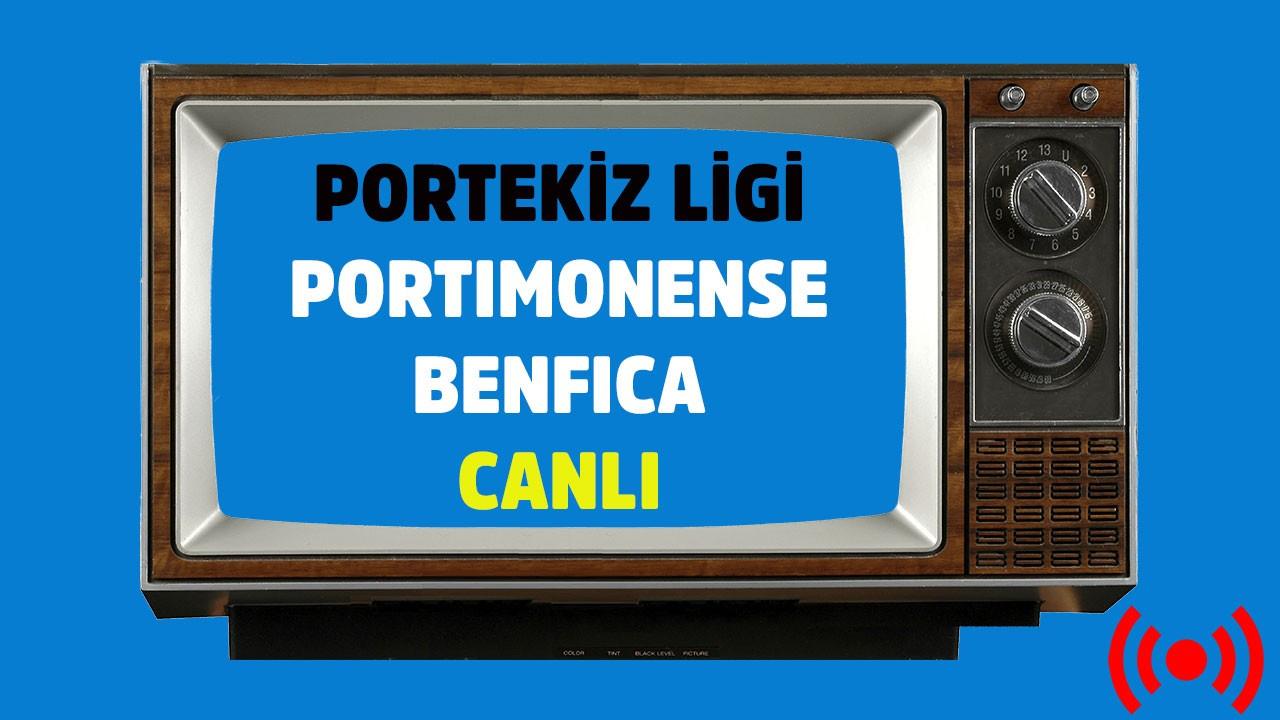 Portimonense - Benfica CANLI