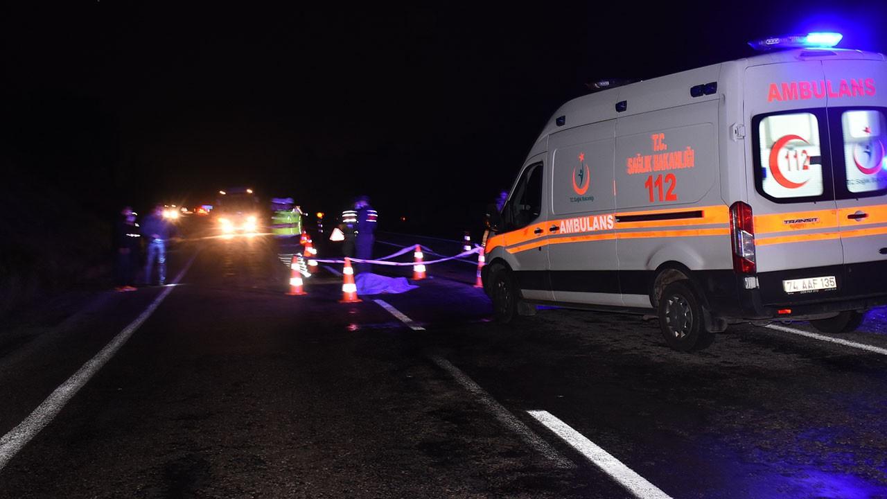 Bartın'da korkunç kaza