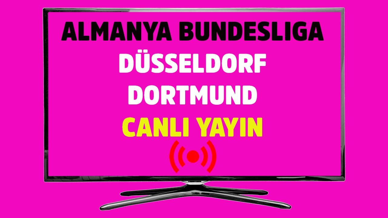Düsseldorf - Dortmund CANLI