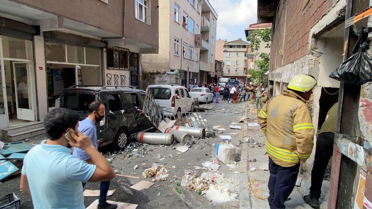 İstanbul'un göbeğinde patlama!.. Yaralılar var!