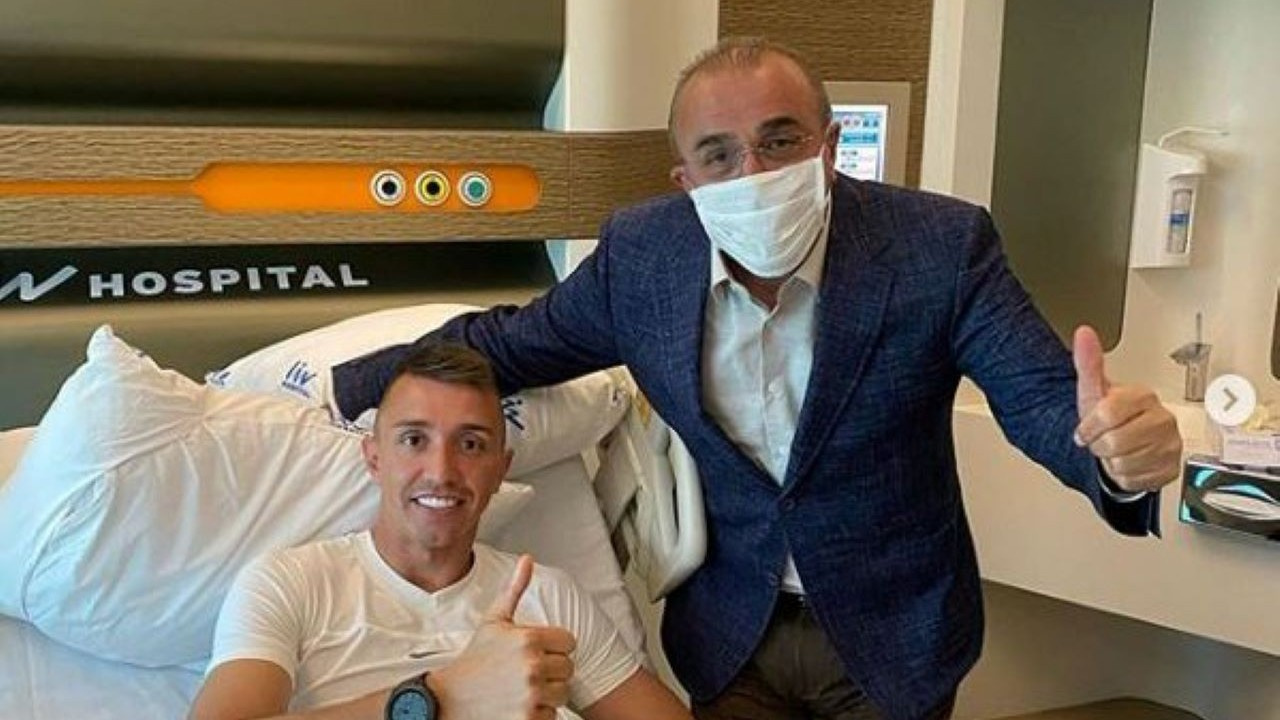 Fernando Muslera'nın ameliyatı 3 saat sürdü