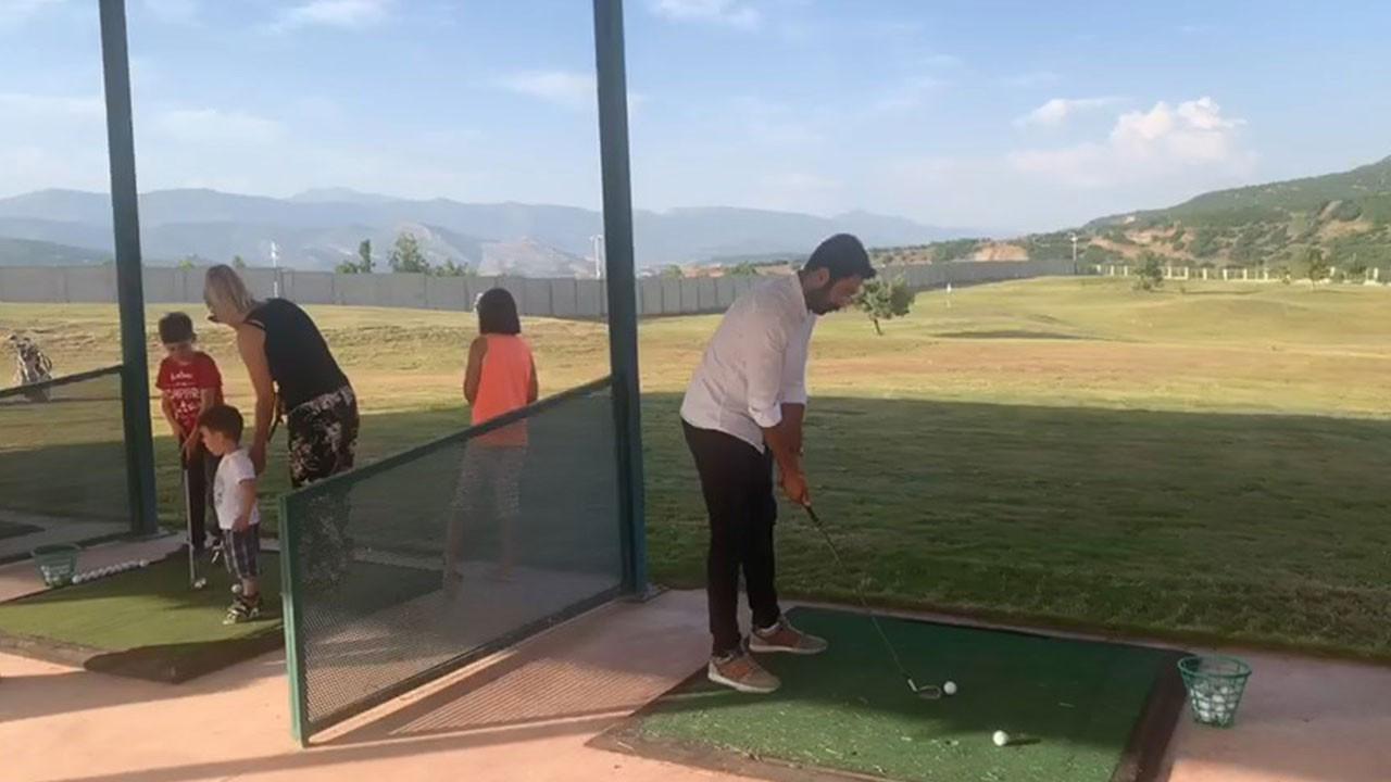 Tunceli'de golf sahası faaliyete geçti