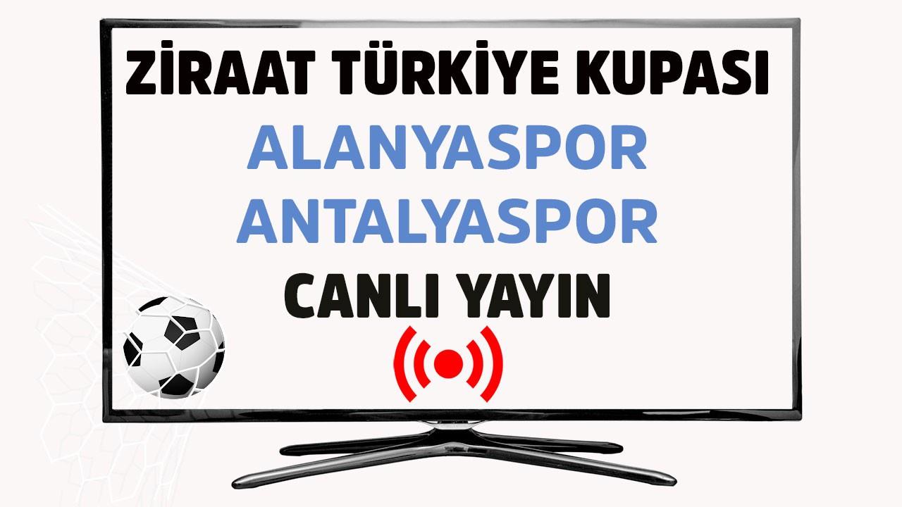 Alanyasopr - Antalyaspor CANLI
