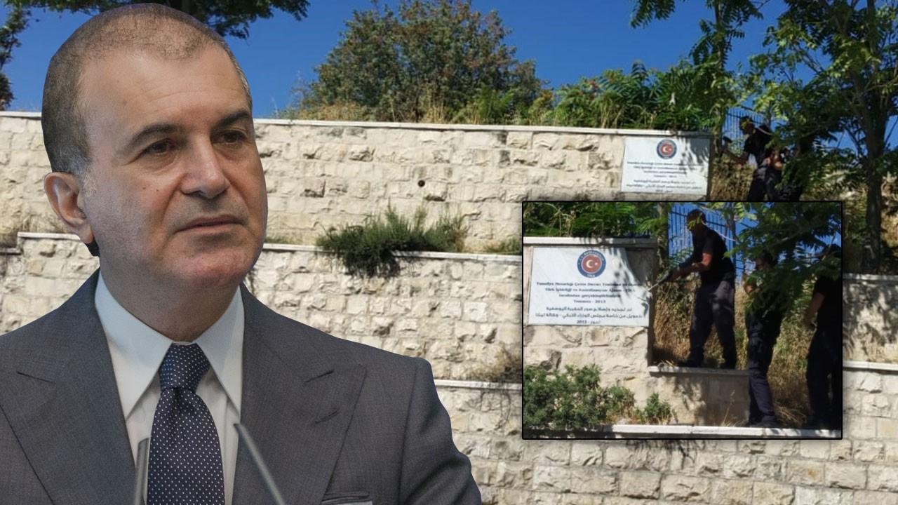 Ömer Çelik'ten İsrail'e sert tepki
