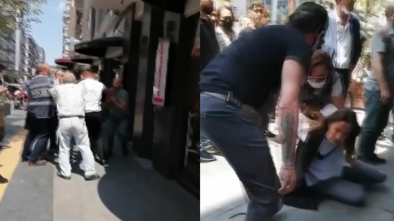 'Maske takın' diye uyaran polise bıçaklı saldırı!