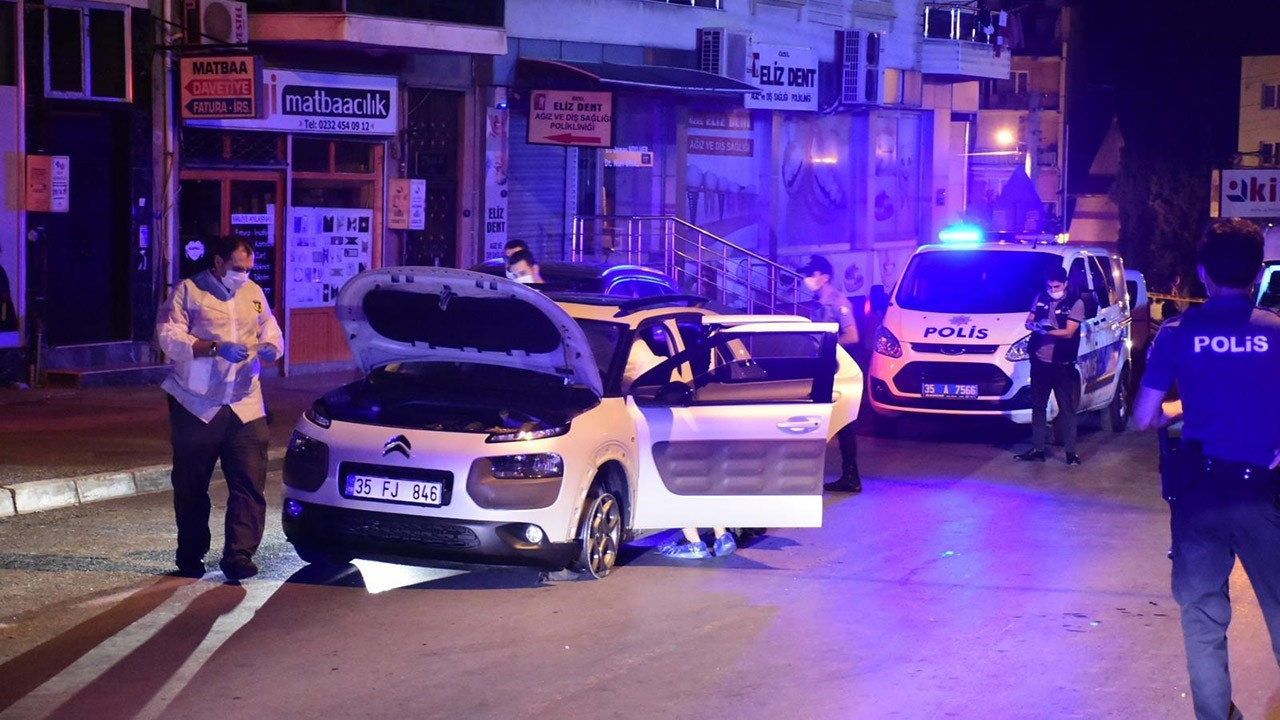 Polise ateş açarak kaçmaya çalıştı