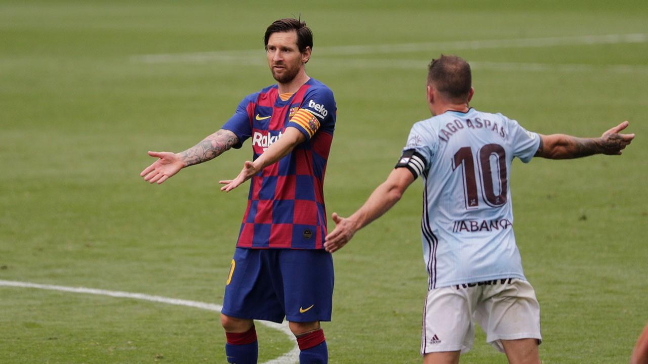 Okay Yokuşlu'lu Celta Vigo'dan Barcelona'ya çelme