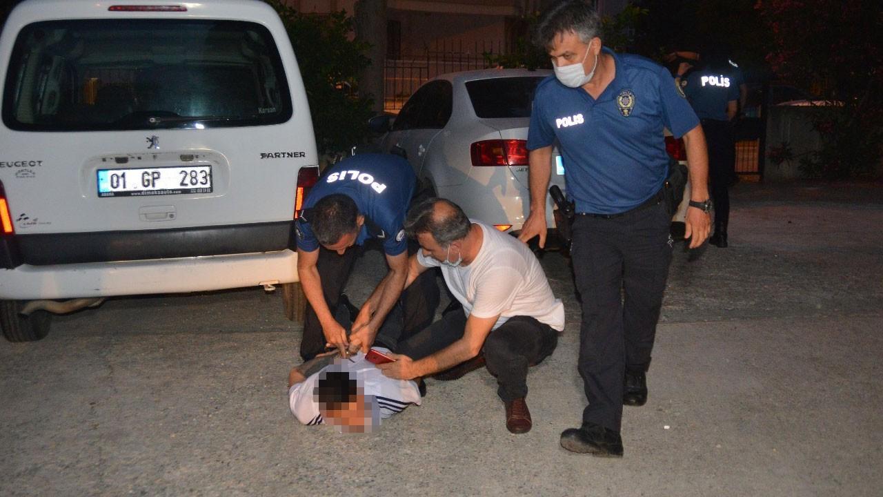 Adana'da gece yarısı dehşet!