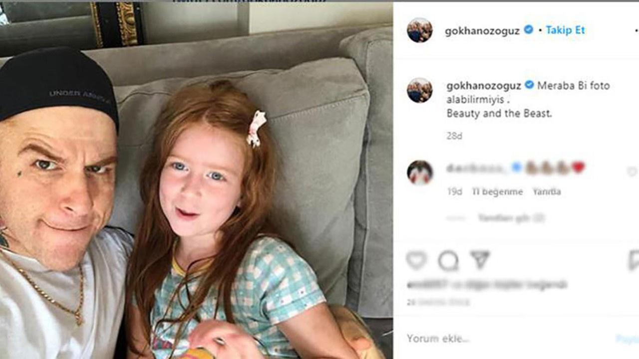 Gökhan'dan bir ilk! Kızının fotoğrafını paylaştı