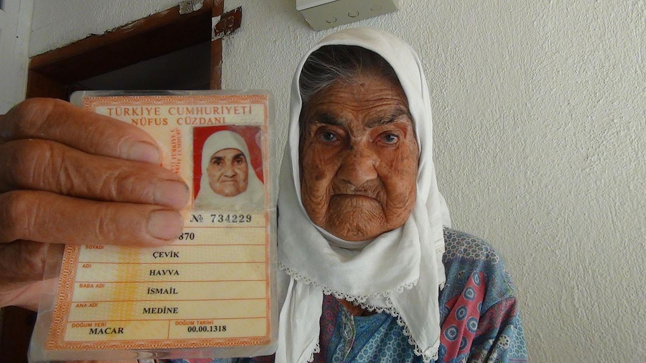 Havva Cevik 119 yaşında.