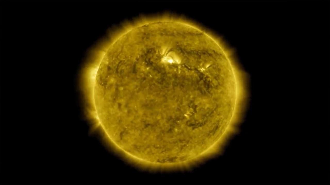 Güneş'in 10 yıllık fotoğraflarından 1 saatlik film
