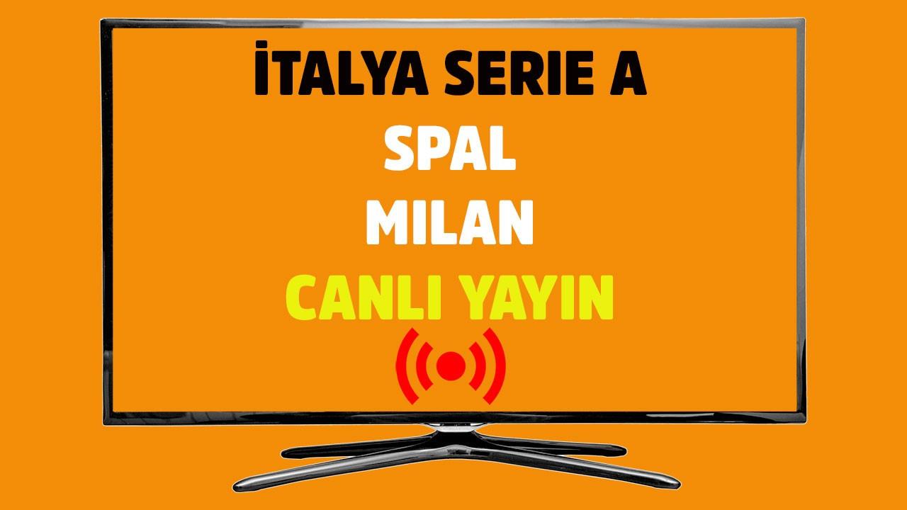 SPAL - Milan CANLI